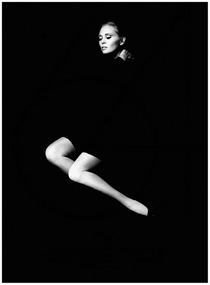 Portrait of Faye Dunaway by Jerry Schatzberg, 1967