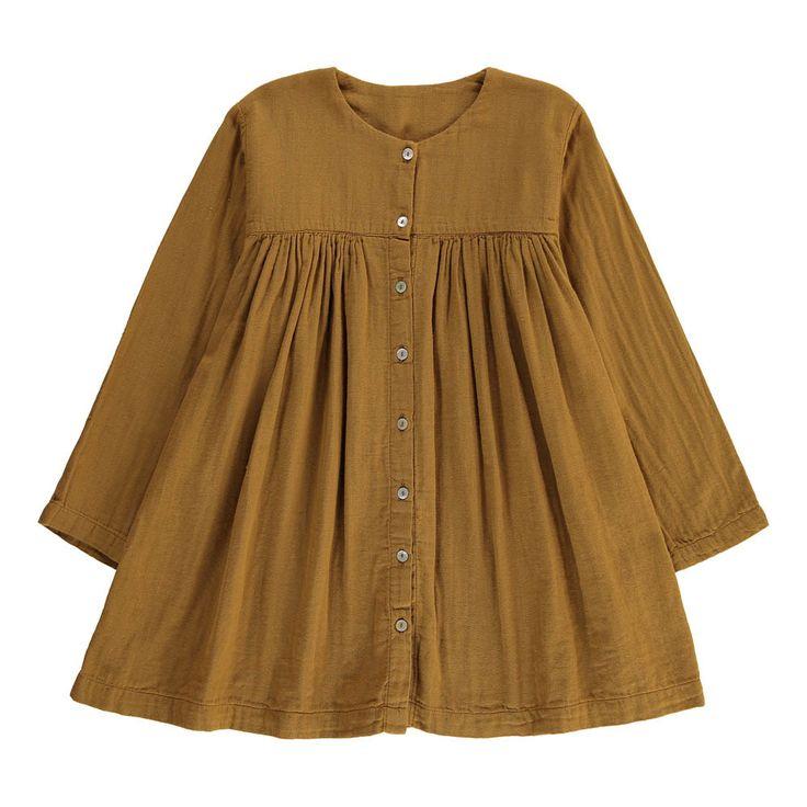 Poudre Organic Organic Cotton Buttoned Dress-product