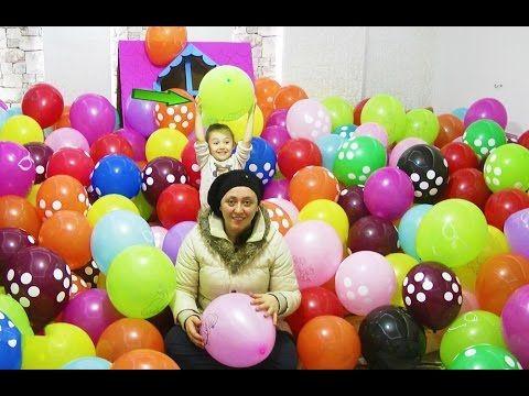 Sürpriz Babamla Beraber Anneme Bir Oda Dolusu Balon Hazırladık