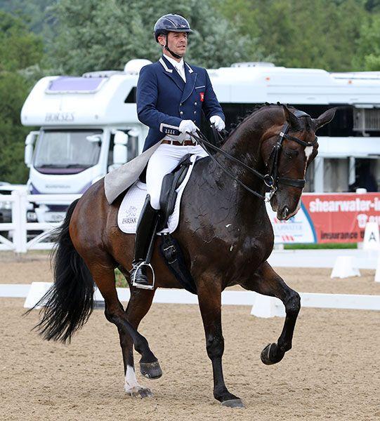 Britain's Olympic Team Silver Medalist Spencer Wilton & Super Nova Win Doha CDI5* Grand Prix Special – Dressage-News