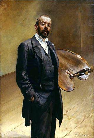 Malczewski Self-portrait with a palette - Jacek Malczewski – Wikipedia
