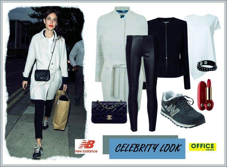 Britská módní ikona ALEXA CHUNG ráda kombinuje svěží módní kousky s pohodlnými trendy retro teniskami New Balance. Jak se Vám líbí její styl?  My z něj zkrátka vždy padáme na zadek! :-) #OfficeShoesCzech #CelebrityLook #NewBalance #MustHave