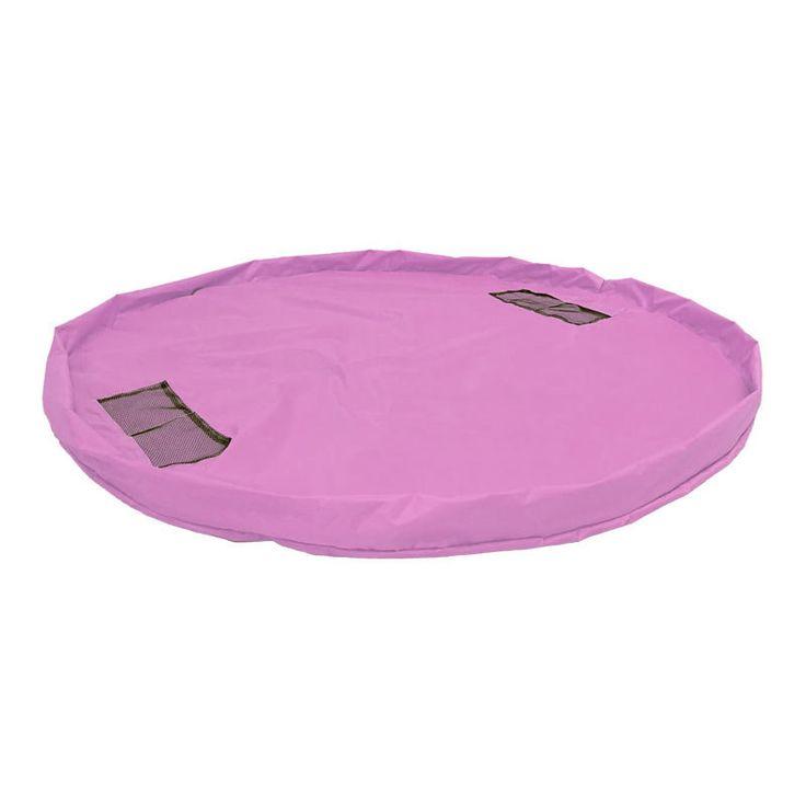 Kids Waterproof Foldable Playmat Toy Storage Bag Children Potable Outdoor Picnic Mat