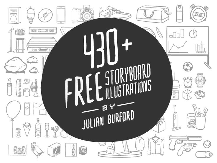 430+ FREE storyboard illustrations