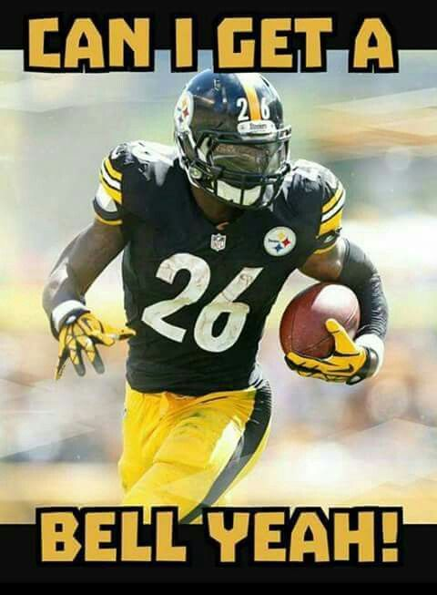 PITTSBURGH STEELERS~Le'Veon Bell #26