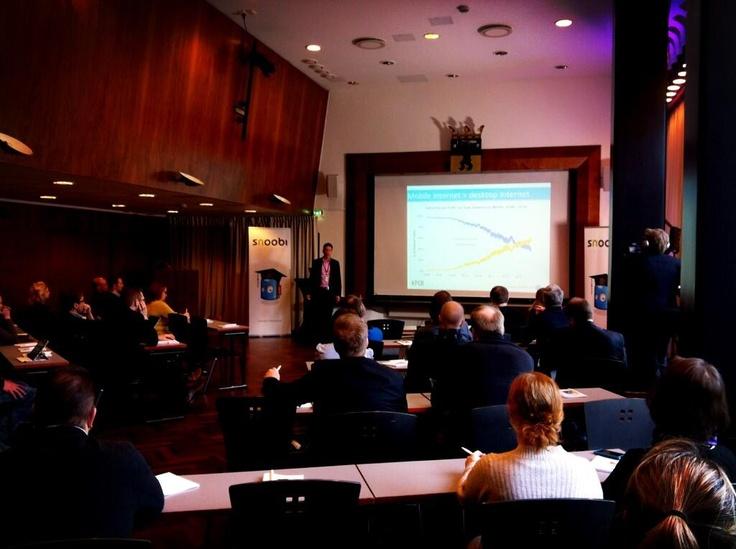 Teemu Malinen 12.3.2013 Snoobi Akatemian verkkokauppaseminaarissa Helsingissä