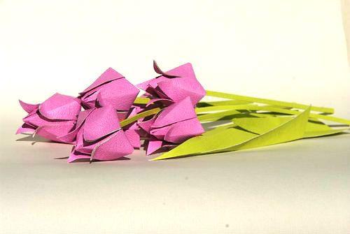 origami flowers