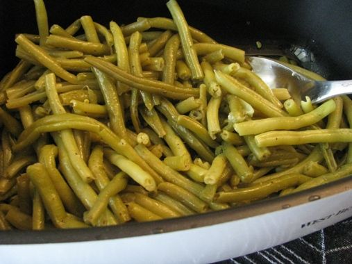 green beans with garlic and butter green beans place olive oils olives ...