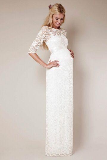 Wedding dress pregnancy