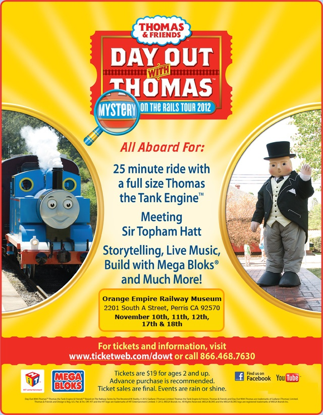 Thomas the train day out coupons