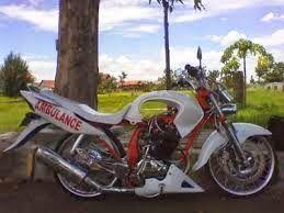 modifikasi ceper motor yamaha vixion agar mudah dikendarai oleh rider bertubuh kecil