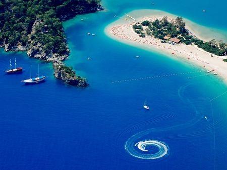 blue lagoon in fethiye,turkey