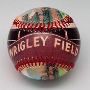 Wrigley Field Limited Edition Baseball by ThirtyFive55 $19.95 @Ann Brincks Cubs @Leslie Mallman Cubs