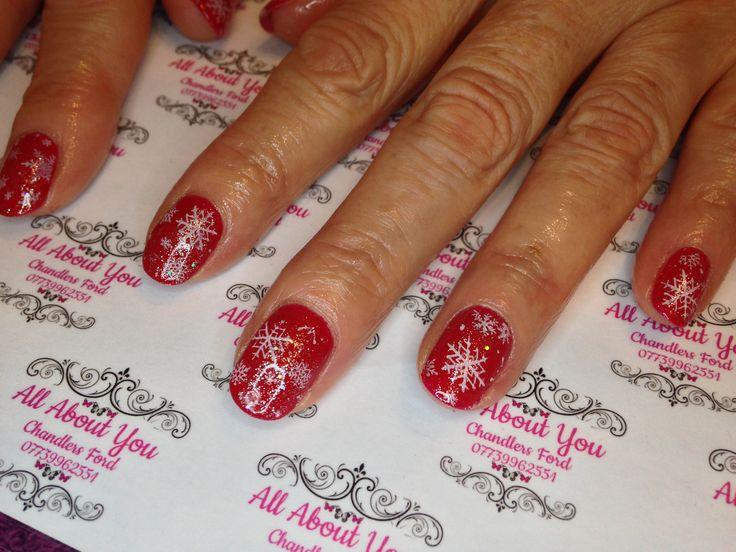 Holidays are coming ! #Christmas #snowflakes #lustfulred #icediamond #glitter 😍