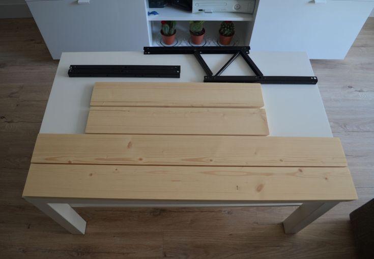 Las 25 mejores ideas sobre mesa elevable en pinterest muebles plegables mesa plegable y mesa - Tablero dm leroy ...
