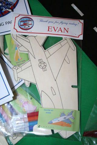 Everyday Celebrating: Airplane birthday!