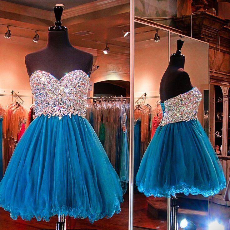 Hd08287 Charming Homecoming Dress,Organza Homecoming Dress,Sweetheart Homecoming Dress,Beading Homecoming Dress
