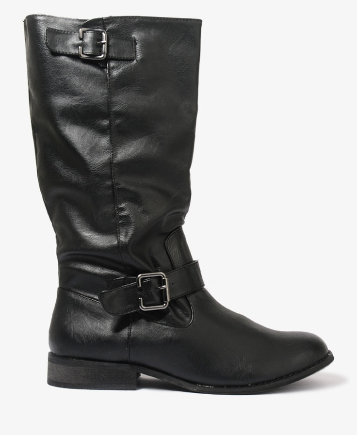 Double Buckle Boots | FOREVER21 - 2000049323
