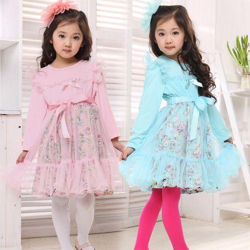Çocuk giyim ilkbahar tek parça elbise uzun kollu etek kabarcık iplik büyük oğlan Ploughboys gentlewomen elbise tül US $19.32