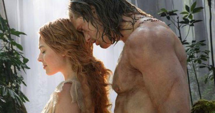 'Legend of Tarzan' First Look at Margot Robbie & Alexander Skarsgard -- Alexander Skarsgard is the former King of the Jungle in a sneak peek at 'Legend of Tarzan', coming to theaters this summer. -- http://movieweb.com/legend-tarzan-2016-margot-robbie-alexander-skarsgard-photos/