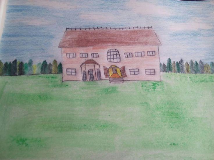 A drawen mansion