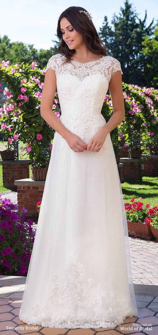 Sincerity Bridal Fall 2016 wedding dress