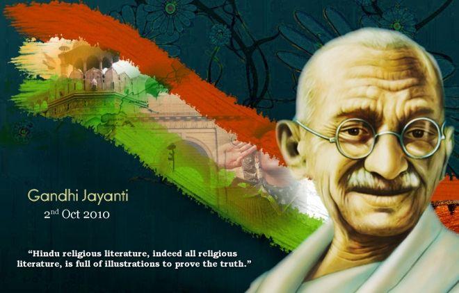Gandhi Jayanthi Wallpaper Hd Wallpaper Happy Gandhi Jayanti Mahatma Gandhi Gandhi