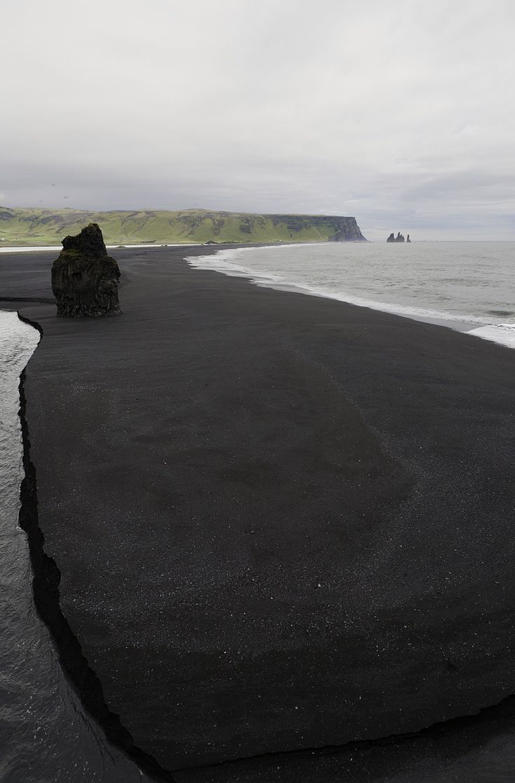 Black Beach ~ Vik, Iceland