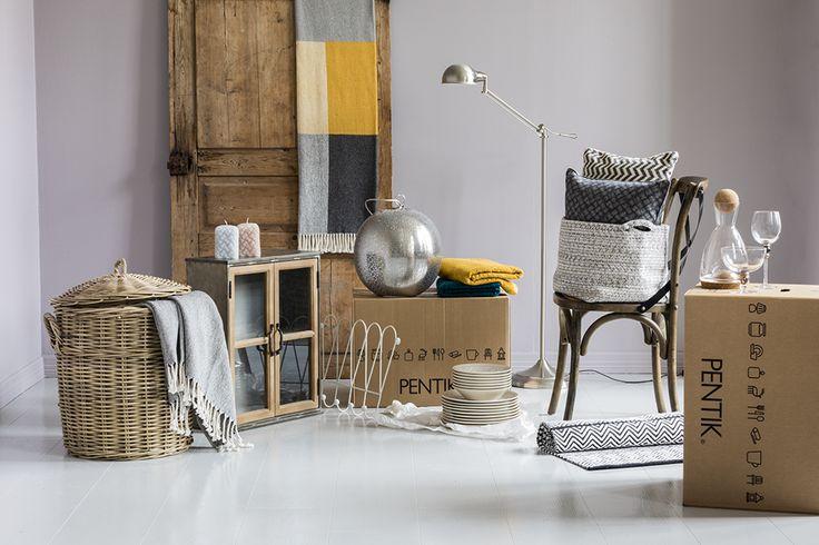 Pentik Taiga Ceiling Lamp | Silver-coloured metal