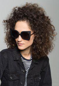 Quay - PHEBE - Okulary przeciwsłoneczne - black