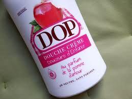 """gel douche Dop pomme d'amour""""mmm ca sent bon"""