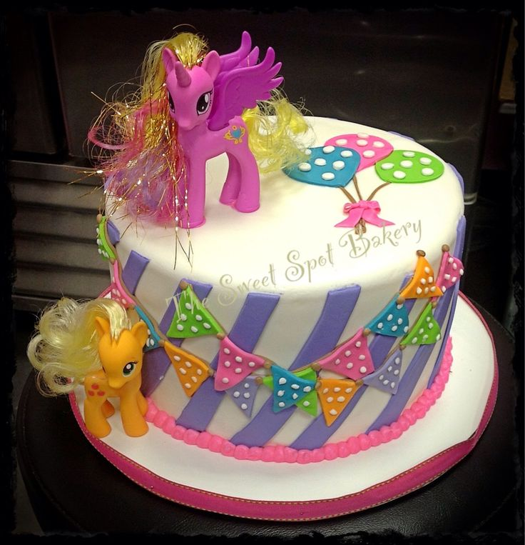 My Little Pony Birthday Cake www.facebook/thesweetspotbakery.fortworth