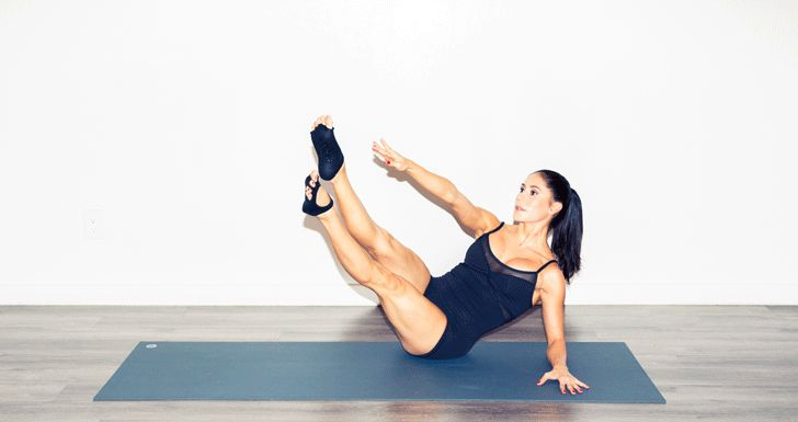 Cut-off jean shorts season is coming and these five pilates moves are exactly what you need for perfectly toned legs this summer.