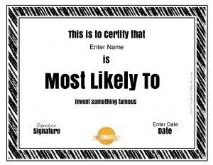 free certificate maker printable