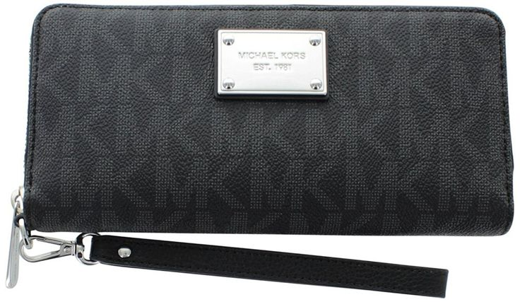 MICHAEL Michael Kors Jet Set Travel Logo Continental Wallet -- See this awesome image  : Michael kors Handbags