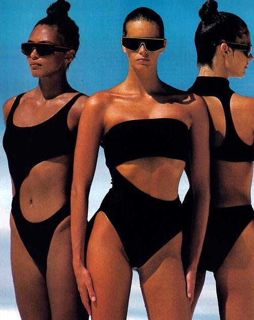 Gilles Bensimon for Elle magazine, December 1987. // #fashion | @andwhatelse