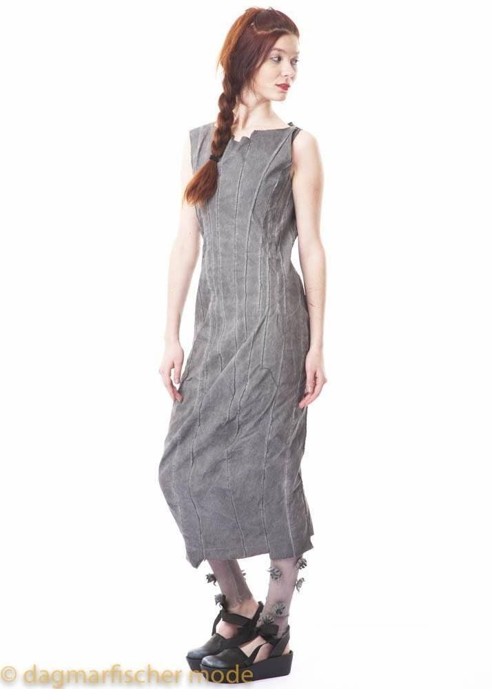 0c636f1900288e Schmales langes Kleid in coal von RUNDHOLZ DIP - dagmarfischer mode