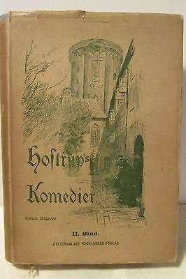 Hoftrup's Komedier - Sjette Udgave - II.  Bind.- Antique Book 1900 - Danish
