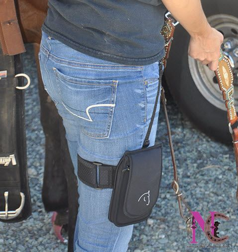 When riding I never have somewhere to carry my cell phone unless I have saddle bags. Not anymore! Now I have the Horse Holster! Read my review and see pics.