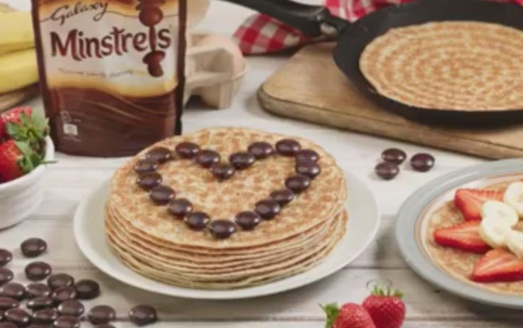 Galaxy Minstrels - Get your favourite pancake toppings at the ready - it's Shrove Tuesday!  13-02-2018