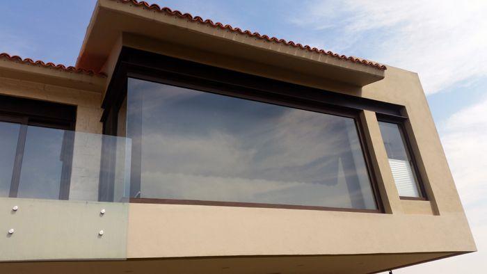 Fijos con portavidrio de aluminio // Fixed window