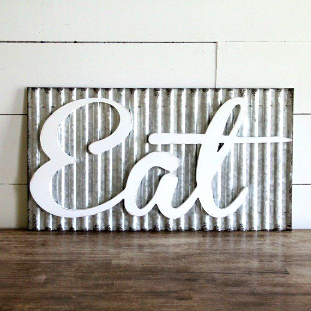 Best 25 Eat Sign Ideas On Pinterest Big Wall Letters
