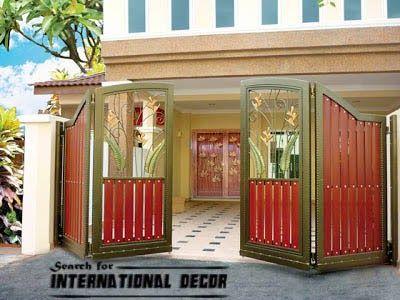 Elegant New Home Designs Latest.: Modern Homes Main Entrance Gate Designs.