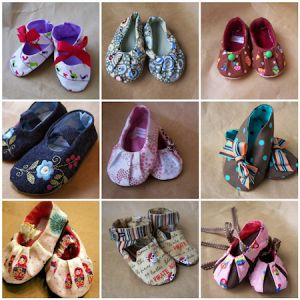 29 free patterns for baby shoes