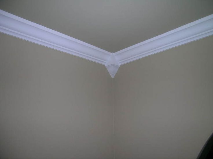 Crown Molding Corner Blocks If You Painted Your Walls