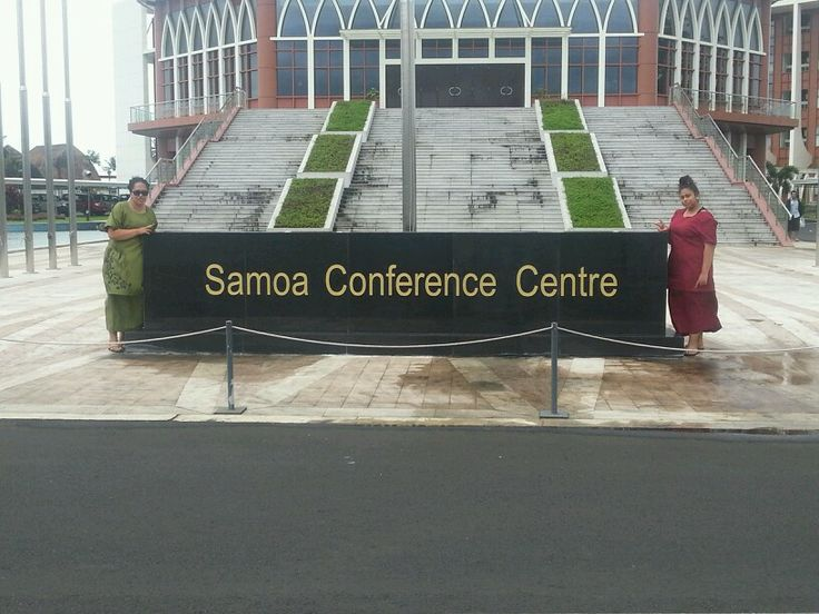 In Apia Samoa