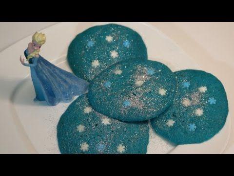 COOKIES FROZEN AUX PETITS FLOCONS DE NEIGE (CUISINERAPIDE) - YouTube