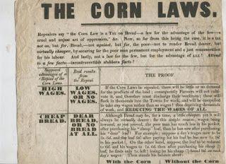 Corn Laws, Enclosures, and Poor Harvests = Unrest in Britian