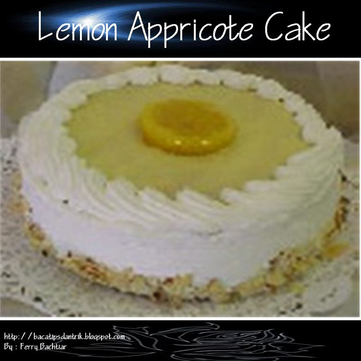 Lemon Appricote Cake