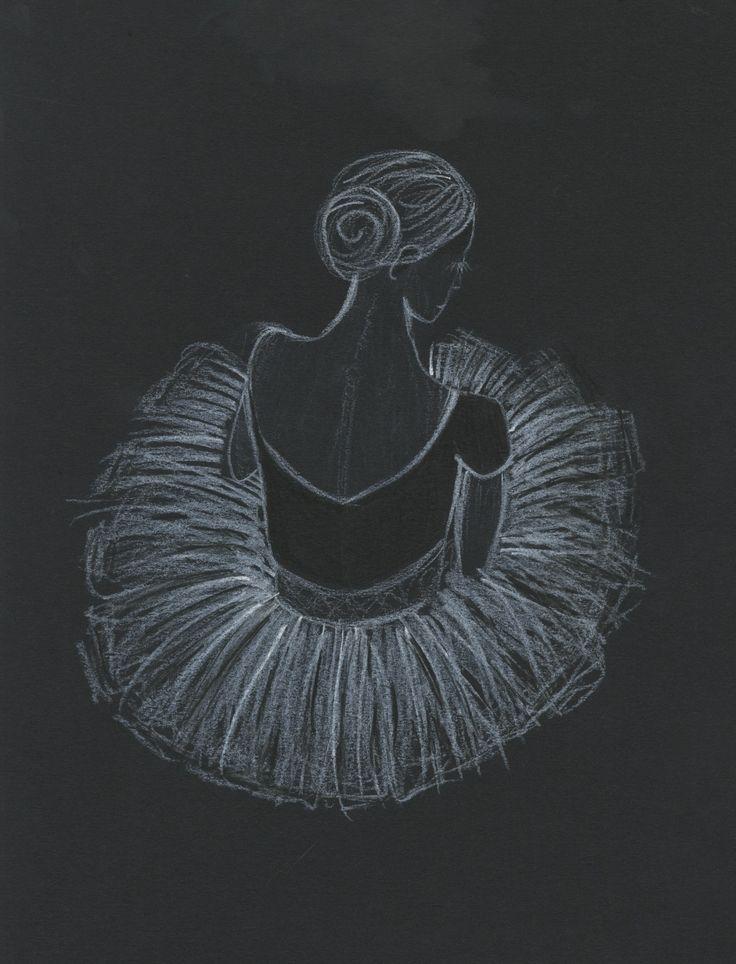 chalk ballerina